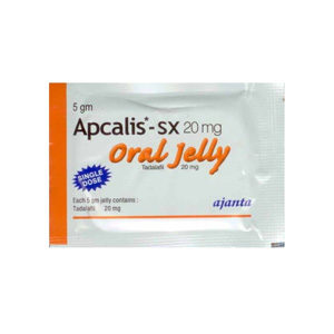Apcalis SX Oral Jelly - buy Tadalafil in the online store | Price