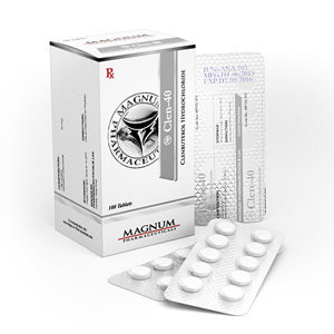 Magnum Clen-40 - buy Clenbuterol hydrochloride (Clen) in the online store | Price