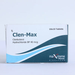 Clen-Max - buy Clenbuterol hydrochloride (Clen) in the online store | Price