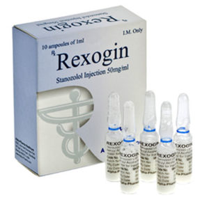 Rexogin - buy Stanozolol-injeksjon (Winstrol depot) in the online store | Price