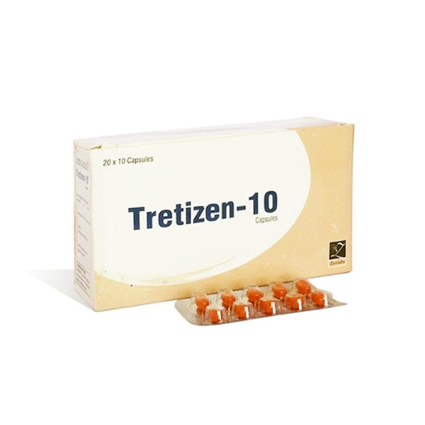 Tretizen 10 - buy Isotretinoin  (Accutane) in the online store | Price