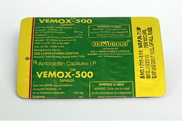 Vemox 500 - buy Amoxicillin in the online store   Price
